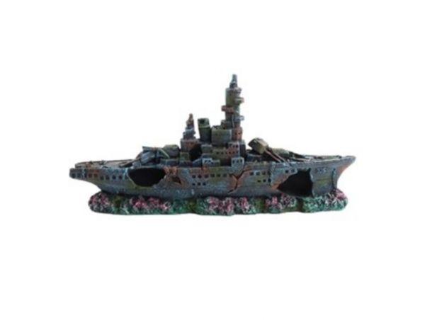Askoll Warship M Decorativo in Resina